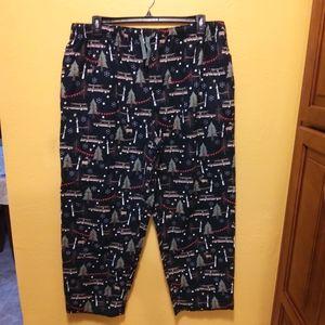 NWT XL, 3XL Cotton Flannel Lounge Pants FirmPrice